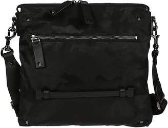Valentino Camouflage Large Crossbody Bag