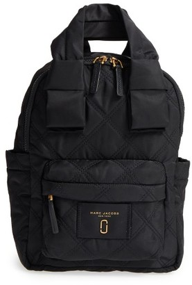 Marc Jacobs Nylon Knot Backpack - Black $225 thestylecure.com