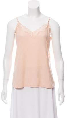 Stella McCartney Lace-Trimmed Knit Camisole w/ Tags