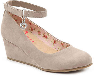 Jellypop Samantha Toddler & Youth Wedge Pump - Girl's