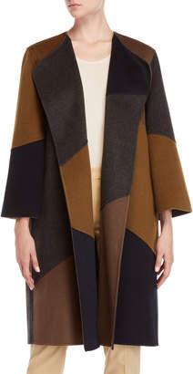 Lafayette 148 New York Belissa Reversible Wool Coat