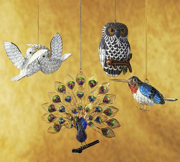Fantasy Bird Cloisonne Ornaments