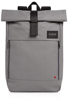 STATE Coated Canvas Colby Backpack