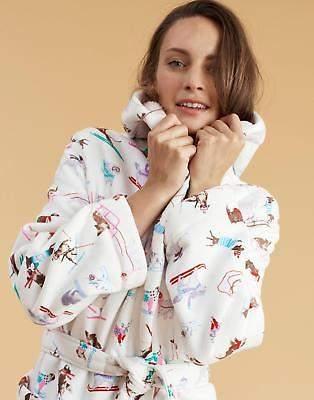 Fleece Lined Robe - ShopStyle UK