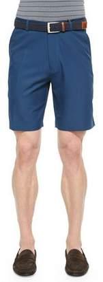 Peter Millar Salem High-Drape Performance Shorts, Navy $85 thestylecure.com