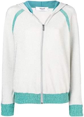 Blugirl glitter zipped hoodie