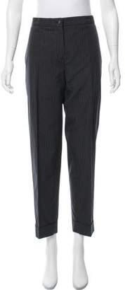 Jean Paul Gaultier High-Rise Pinstripe Pants