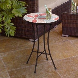 Incadozo Mosaic Side Table-- Floral Pattern