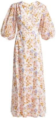 Thierry Colson Phoebe floral-print cotton maxi dress