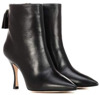 Stuart Weitzman Juniper 95 leather ankle boots