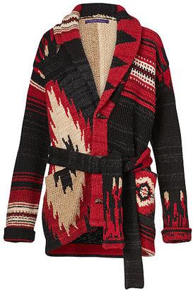 Ralph Lauren Cashmere Patchwork Cardigan $2,990 thestylecure.com