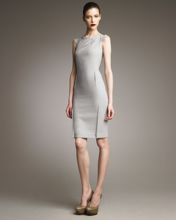 Roland Mouret O'Hara Dress, Dove Gray