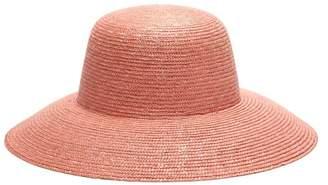 Federica Moretti Straw Hat - Womens - Pink