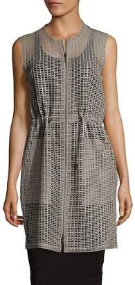Elie Tahari Women's Jordan Leather Vest