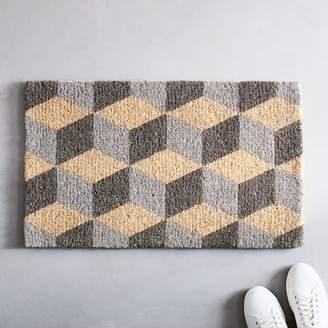 west elm Optic Cube Doormat