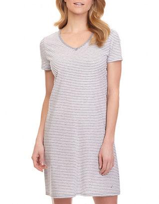 Nautica Striped Sleepshirt $38 thestylecure.com