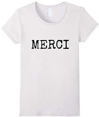 Womens Merci - Women's Simple Design Relaxed Fit Tee Shirt Medium
