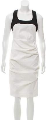 Artelier Colorblock Midi Dress