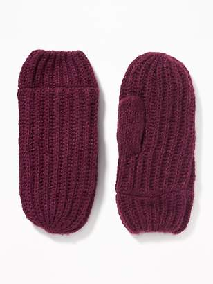 Old Navy Rib-Knit Mittens for Women