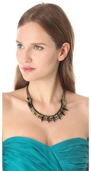 Iosselliani Agate & Stone Necklace