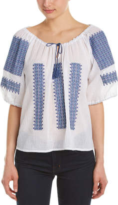 Nieves Lavi Embroidery Top