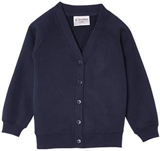 "Trutex Unisex Sweat Cardigan,(Manufacturer Size: 23-25"" Chest)"