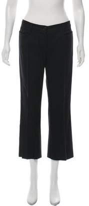 Miu Miu Wide-Leg Crop Pants