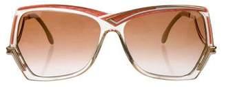 Cazal Tinted Oversize Sunglasses