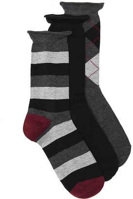 Kelly & Katie Stripe Crew Socks - 3 Pack - Women's