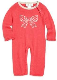 Lucky Jade Baby's Cashmere-Blend Emily Bow Coverall