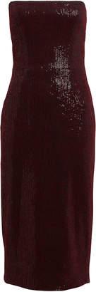 HANEY Martina Strapless Sequin Dress