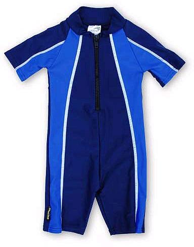 Sunwise Swimwear Sunwise Boys UV Swimsuit - Navy Blue (4T)