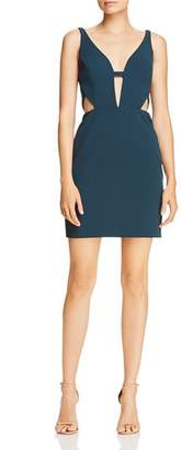 Aidan Mattox Cutout Scuba Crepe Dress - 100% Exclusive