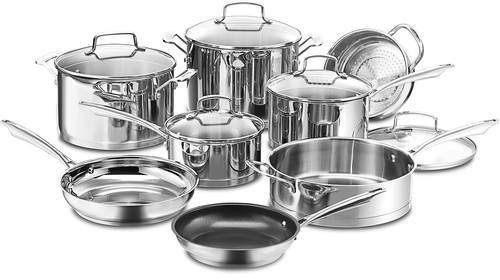 Cuisinart Cuisinart Professional Series Stainless Steel 13-Piece Cookware Set