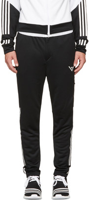 adidas x White Mountaineering Black & White Track Pants $180 thestylecure.com