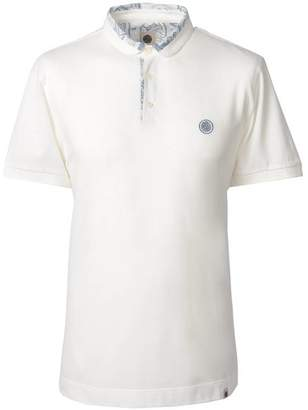 Pretty Green Paisley Print Collar Polo Shirt