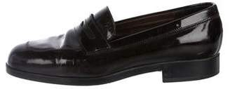 Tod's Round-Toe Penny Loafers