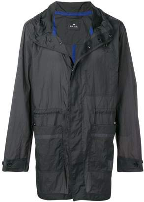 Paul Smith parka lightweight rain jacket