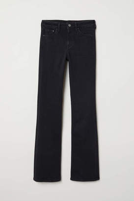 H&M Bootcut Regular Jeans - Denim blue - Women