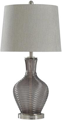Stylecraft Style Craft 29In Ambher Table Lamp