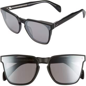 5e1577c5f5b9 Rag   Bone 62mm Oversize Flat Front Sunglasses