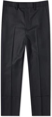 Raf Simons Slim Fit Turn Up Trouser