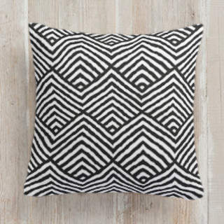 Triangle Waves Self-Launch Square Pillows