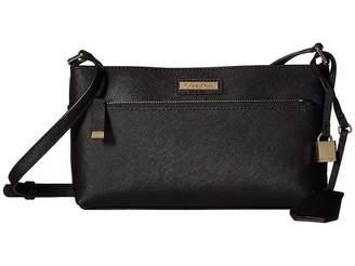 Calvin Klein Brooke Saffiano Leather Crossbody Cross Body Handbags