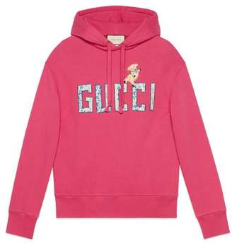 Gucci Guccify cotton sweatshirt with wolf