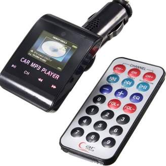 ONLINE Mini Portable 12v Car MP3 Transmitter With Remote Control