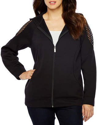 Bold Elements Long Sleeve French Terry Hoodie