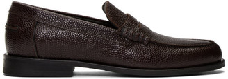 Paul Smith Burgundy Teddy Loafers