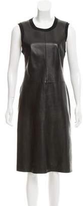 Calvin Klein Collection Cashmere-Blend Midi Dress