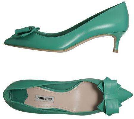 Miu Miu Closed-toe slip-ons